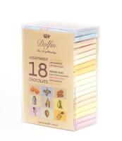 Набор шоколадок Dolfin в тубе 18 штук по 10 грамм