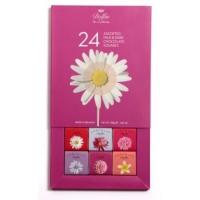 Набор шоколадок Dolfin Flowers в упаковке 24штук по 5грамм