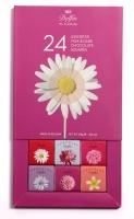 Набор шоколадок Dolfin Flowers в упаковке 9штук по 5грамм