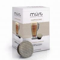 Кофе в капсулах системы Must Dolce Gusto Cappucino (Маст Дольче Густо Капучино) 16 шт