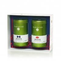 Чайный набор Palais des Thes черного и зеленого чая праздничная коллекция париж для него и париж для неё 200 г