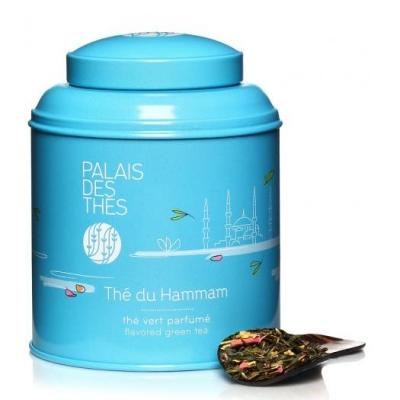 Чай Palais des Thes зеленый хаммама - коллекция Оттенки Чая 100 г
