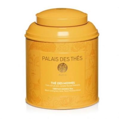 Чай Palais des Thes черный и зеленый Чай Тибетских Монахов металлическая баночка 100 г