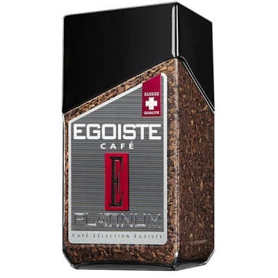Сублимированный кофе EGOISTE Platinum 100 гр