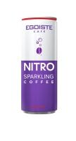 Кофейный напиток Egoiste Nitro Sparkling Coffee Can 250 мл