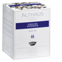 """Чай черный Althaus """"Инглиш Супериор"""" в пирамидках"""