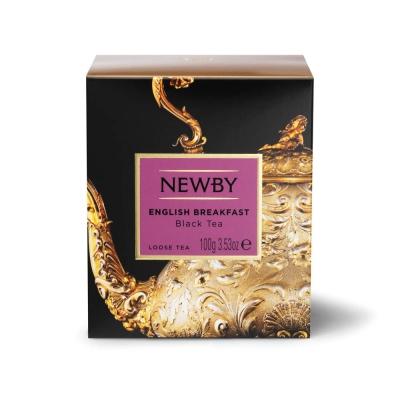 Чай Newby Английский Завтрак черный листовой 100 гр