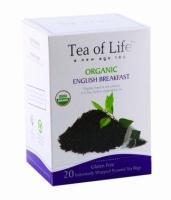 Чай в пирамидках органический Tea of life Завтрак