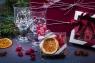 Подарочный набор в упаковке «Элегант» из дизайнерской бумаги, вишневого цвета