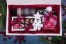 Подарочный набор в упаковке Созвездие удачи белого цвета с поздравительной открыткой