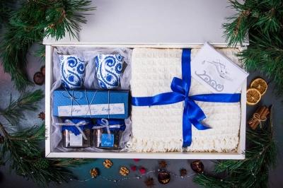 Подарочный набор в упаковке «Белоснежное созвездие удачи»