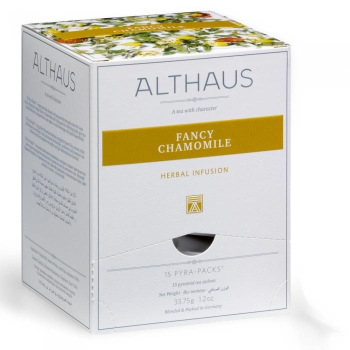"""Чай травяной Althaus """"Благородная Ромашка"""" в пирамидках"""