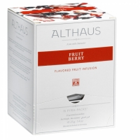 """Чай фруктовый Althaus """"Фрут Берри"""" в пирамидках"""