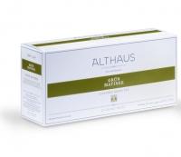 Чай зеленый ароматный Althaus (Альтхаус)Грюн Матинэ пакетированный для чайника