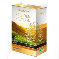Черный чай Heladiv Golden Ceylon Super PEKOE рассыпной 100 г