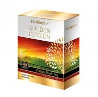 Черный чай Heladiv Golden Ceylon Vintage Black в пакетиках 100 шт