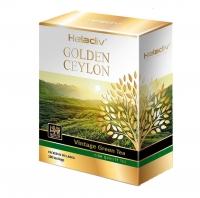 Зеленый чай Heladiv Golden Ceylon Vintage Green в пакетиках 100шт