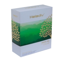 Зеленый чай Heladiv Green Tea в пакетиках 100 шт