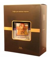Подарочный набор кофе Agazzi PUT coffee IN de Colombia + стеклянная кружка