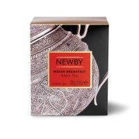 Чай Newby Индийский Завтрак черный листовой 100гр