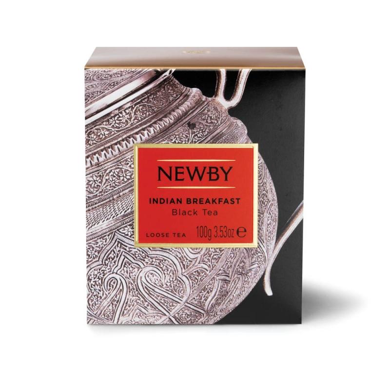 Чай Newby Индийский Завтрак черный листовой 100 гр