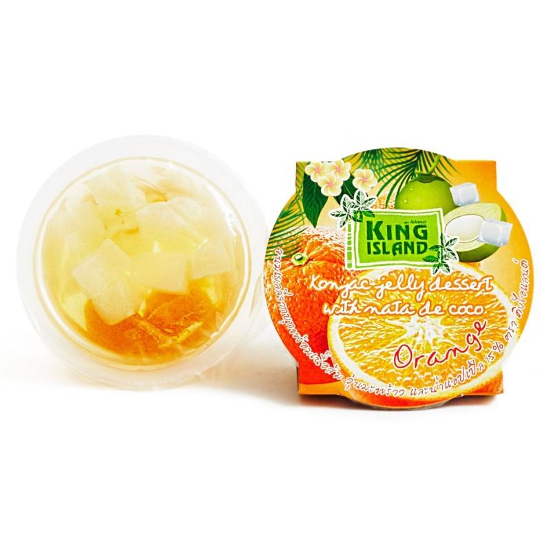 Фрукты в желе с конжаком (апельсин) King Island 120 г