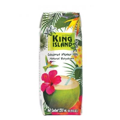 Кокосовая вода без сахара King Island 250 мл