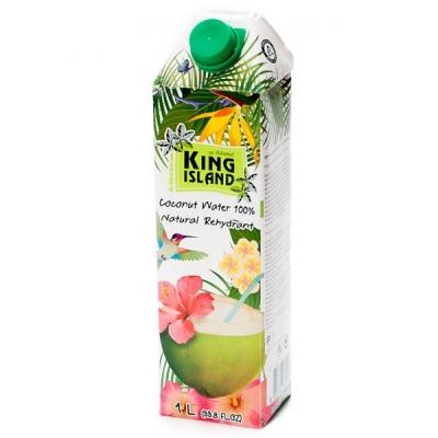 Кокосовая вода без сахара King Island 1000 мл