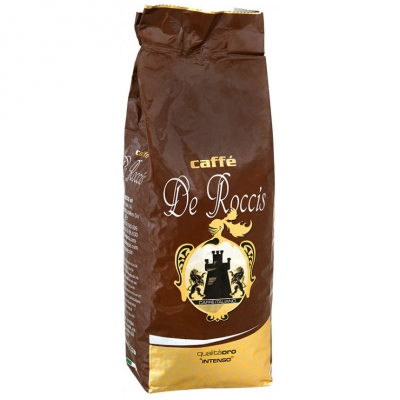 Кофе в зернах De Roccis Oro Intenso (Де Роччис Оро Интенсо) 1 кг