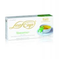 Ronnefeldt Leaf Cup Morgentau Моргентау Ароматизированный Зеленый чай со вкусом манго и цитрусовых в пакетиках 15 штук  в упаковке 37,5 гр