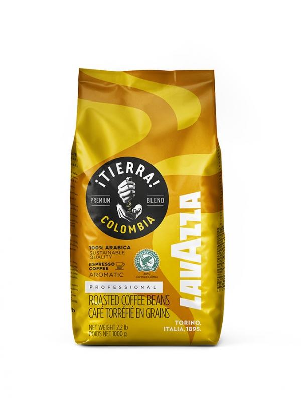 Кофе зерновой Lavazza Tierra Colombia 1 кг