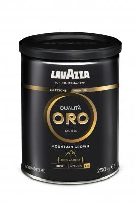 Кофе молотый Lavazza Qualita Oro Mountain Grown 250 г в банке