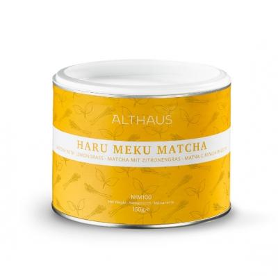 Чай матча Althaus Haru Meku matcha (хару меку) с лемонграссом 150 г