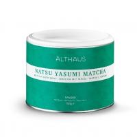 Чай матча Althaus Natsu Yasumi matcha (нацу ясуми) с мятой 150 г