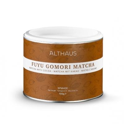 Чай матча Althaus Fuyu Gomori matcha (фую гомори) с какао 150 г