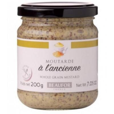 Французская горчица по старинному рецепту 200 грамм
