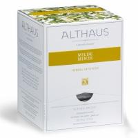 """Чай травяной Althaus """"Нежная Мята"""" в пирамидках"""