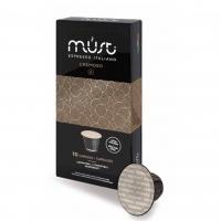 Кофе молотый в капсулах системы Must Nespresso Cremoso (Маст Неспрессо Кремосо) 10 шт
