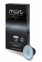 Кофе молотый в капсулах системы Must Nespresso Ristretto (Маст Неспрессо Ристретто) 10 шт