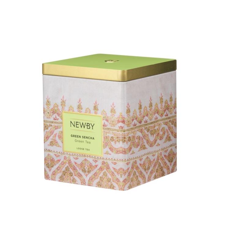Чай Newby Зеленая сенча 125 г