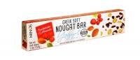 Мягкая нуга Minos с йогуртом, клюквой и миндалем 150 г