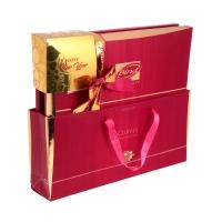 Конфеты BIND Экслюзив Ассорти в розовой подарочной упаковке + Уголок НГ 320 г