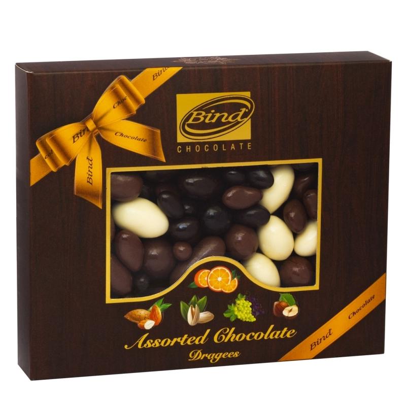 Драже Bind Ассорти шоколадный микс 100 г
