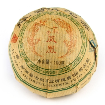 Чай Пуэр Шен (Гнездо) Феникс (2009г) 100 г
