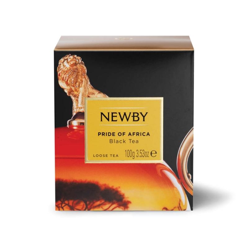 Чай Newby Африканская Гордость черный листовой 100 гр
