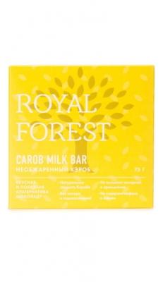 Royal Forest Carob Milk Bar Необжаренный кэроб 75 гр