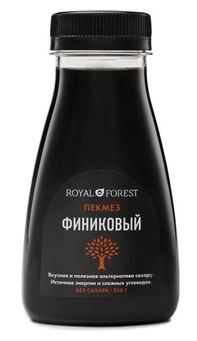 Сироп Royal Forest Финиковый пекмез 250 гр