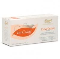 Ronnefeldt Tea Caddy Cream Orange Чай Крим Оранж : Ройбуш, цедра апельсина, кусочки ванили в пакетиках 20 штук  в упаковке 78 гр