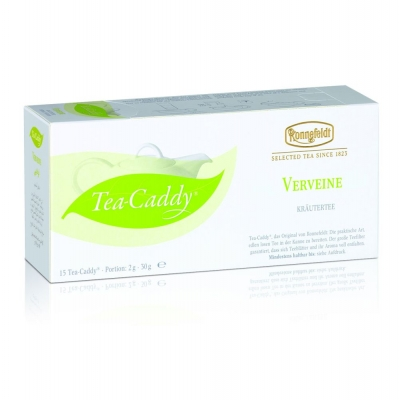 Ronnefeldt Tea Caddy Verbene Вербена Травяной чай в пакетиках 15 штук  в упаковке 37,5 гр