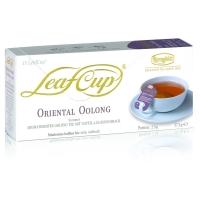 Ronnefeldt Leaf Cup Oriental Oolong Восточный Улун Ароматизированный Улун со вкусом финика и наранхиллы в пакетиках 15штук в упаковке 34,5гр